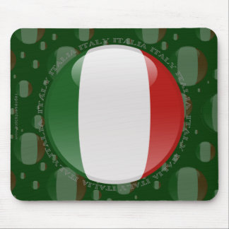 Italy Bubble Flag Mouse Mat