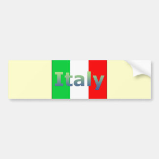Italy Bumper Sticker