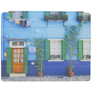 Italy, Burano. A colorful house in Burano near iPad Cover