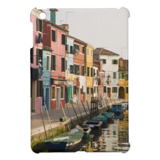 Italy, Burano. Colorful houses of line a iPad Mini Covers