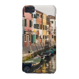 Italy, Burano. Colorful houses of line a iPod Touch (5th Generation) Case