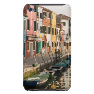 Italy, Burano. Colorful houses of line a iPod Touch Cases