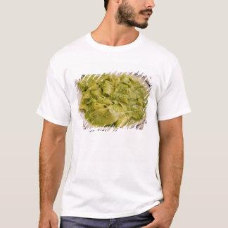 Italy, Camogli. Plate of pasta with pesto T-Shirt