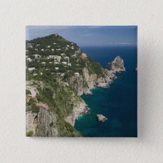 ITALY, Campania, (Bay of Naples), CAPRI: 15 Cm Square Badge