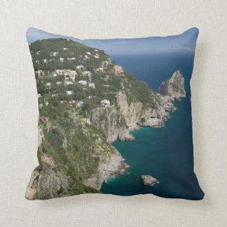 ITALY, Campania, (Bay of Naples), CAPRI Cushion