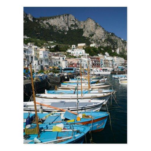 ITALY, Campania, (Bay of Naples), CAPRI: Marina Postcards