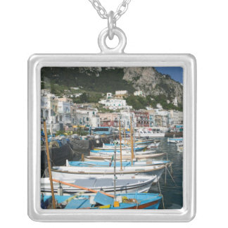 ITALY, Campania, (Bay of Naples), CAPRI: Marina Silver Plated Necklace