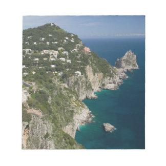 ITALY, Campania, (Bay of Naples), CAPRI: Notepad