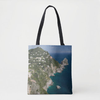 ITALY, Campania, (Bay of Naples), CAPRI Tote Bag