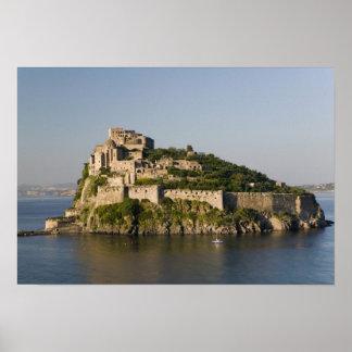 ITALY Campania Bay of Naples ISCHIA 2 Posters