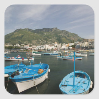 ITALY, Campania, (Bay of Naples), ISCHIA, FORIO: 2 Square Sticker