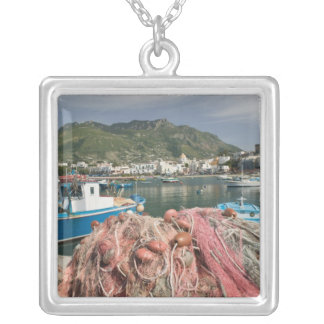 ITALY, Campania, (Bay of Naples), ISCHIA, FORIO: Silver Plated Necklace