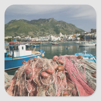 ITALY, Campania, (Bay of Naples), ISCHIA, FORIO: Square Sticker