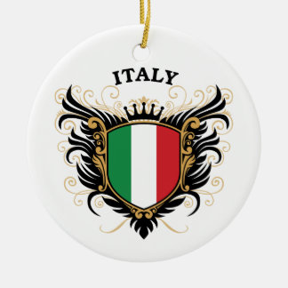 Italy Christmas Ornament