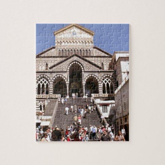 Italy, Church on the Amalfi coast Jigsaw Puzzle