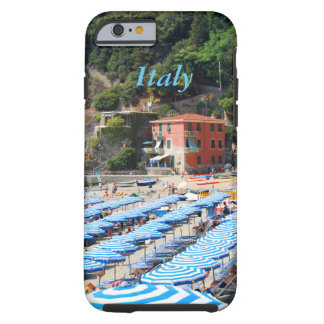 Italy Cinque Terre Beach Tough iPhone 6 Case