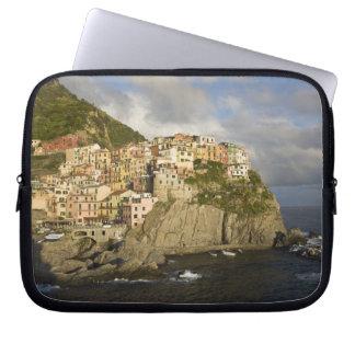 Italy, Cinque Terre, Manarola. Village on cliff. Laptop Sleeve