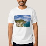 Italy, Cinque Terre, Vernazza, Hillside Town of 2 Tee Shirts
