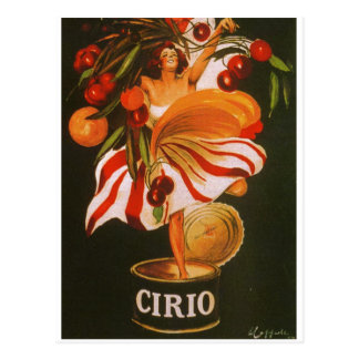 Italy - Cirio Tomatoes Postcard