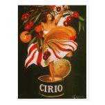 Italy - Cirio Tomatoes Postcards