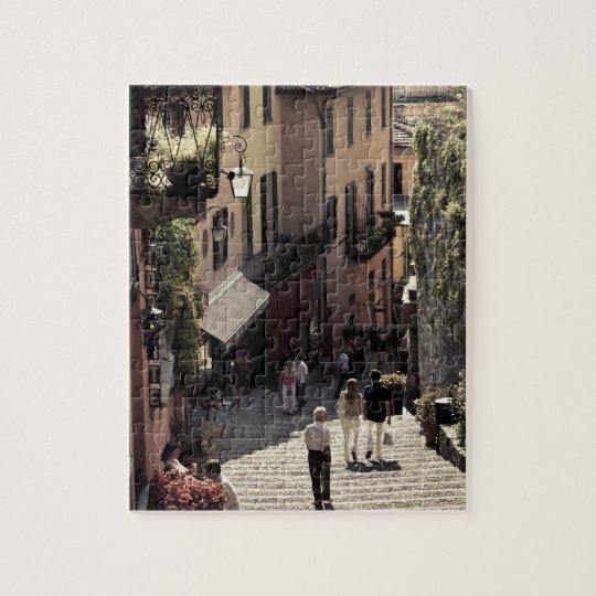 Italy, Como Province, Bellagio. Salita 2 Jigsaw Puzzle