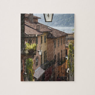 Italy, Como Province, Bellagio. Salita Jigsaw Puzzle