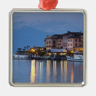 Italy, Como Province, Bellagio. Town view, Christmas Ornament