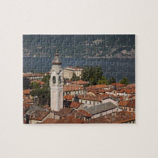 Italy, Como Province, Menaggio. Town view and 2
