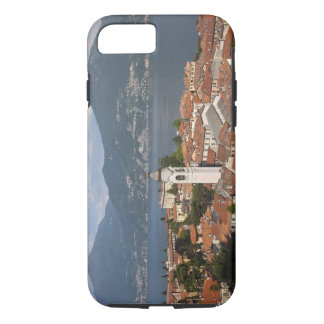 Italy, Como Province, Menaggio. Town view and iPhone 8/7 Case