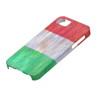 Italy distressed Italian flag Case For The iPhone 5