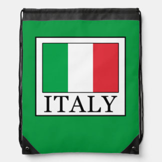 Italy Drawstring Bag