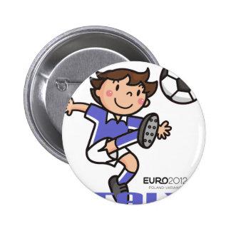 Italy - Euro 2012 Pinback Button