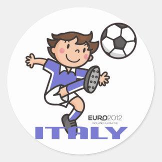 Italy - Euro 2012 Round Sticker