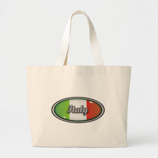 Italy flag 1 large tote bag