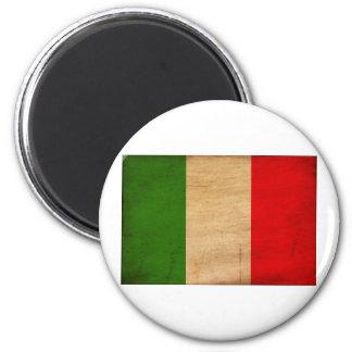 Italy Flag 6 Cm Round Magnet