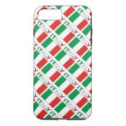 Italy Flag and Word Tiled iPhone 8 Plus/7 Plus Case