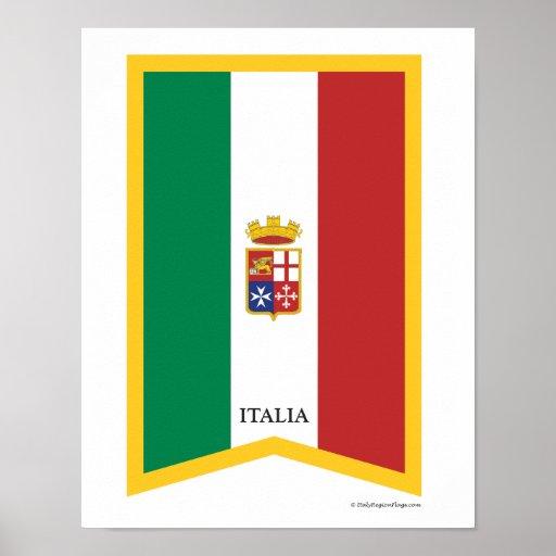 Italy Flag  Art Print