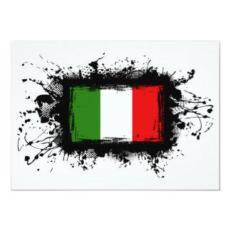 Italy Flag Card