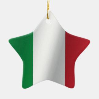 Italy flag christmas ornament