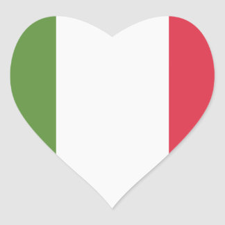 Italy Flag - emoji Twitter Heart Sticker