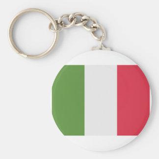 Italy Flag - emoji Twitter Key Ring