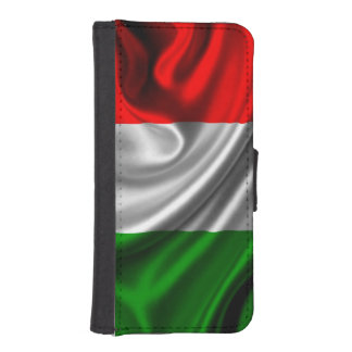 Italy Flag Fabric iPhone SE/5/5s Wallet Case