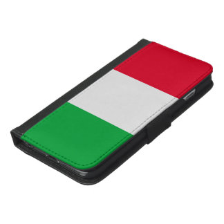 Italy Flag iPhone 6/6s Plus Wallet Case