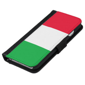 Italy Flag iPhone 6 Wallet Case