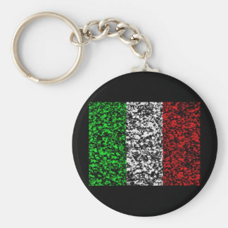 Italy - Flag Key Ring