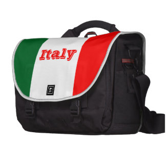 Italy flag laptop computer bag