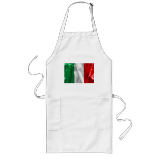 Italy Flag Long Apron