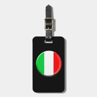 Italy Flag Luggage Tag
