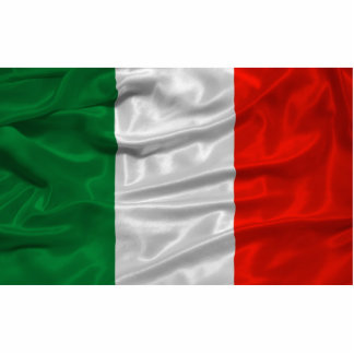Italy Flag Magnet Photo Sculpture Magnet