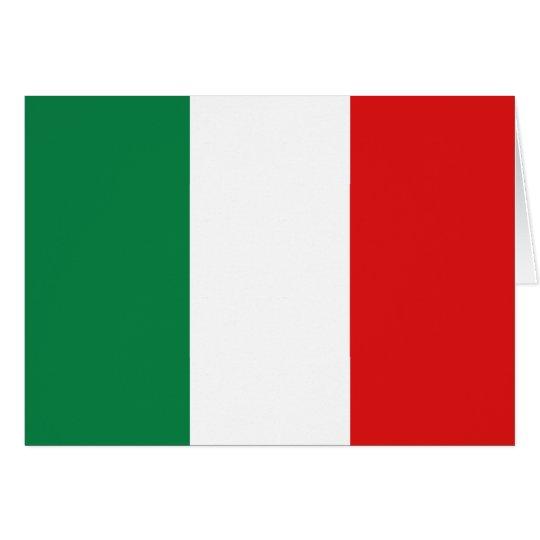 Italy Flag Notecard